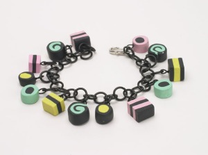 Licorice Candy Bracelet